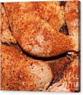 Bbq Chicken Canvas Print