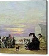 Beach Scene Canvas Print