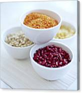Beans And Pulses Canvas Print