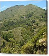 Beautiful Mount Tamalpais Canvas Print