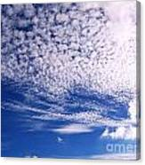 Beautiful Sky And Cloud Formation Canvas Print