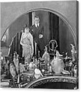 Bedroom Scene, 1920s Canvas Print