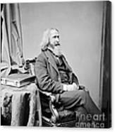 Benjamin Peirce, American Mathematician Canvas Print