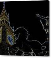 Big Ben And Boudica Canvas Print