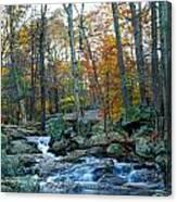 Big Hunting Creek Upstream From Cunningham Falls Canvas Print