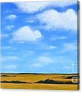 Big Sky Prairie Canvas Print