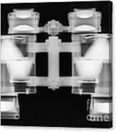 Binoculars X-ray Canvas Print