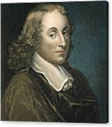 Blaise Pascal (1623-1662) Canvas Print