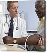 Blood Pressure Measurement Canvas Print