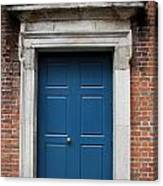 Blue Irish Door Canvas Print