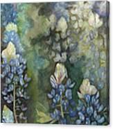 Bluebonnet Blessing Canvas Print
