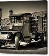 Bodie Gas Stop Canvas Print