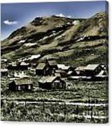Bodie Ghost Town II Canvas Print