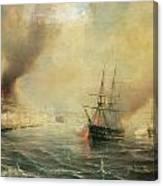 Bombardment Of Sale Canvas Print