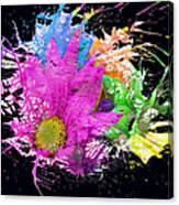 Boom Bloom Canvas Print