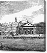 Boston: Quincy Market Canvas Print