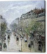 Boulevard Montmartre Canvas Print