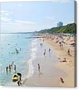 Bournemouth Beaches Canvas Print