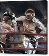 Boxers 1 Canvas Print