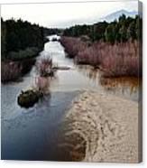 Breede River Canvas Print