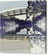 Bridge Across The River Canvas Print