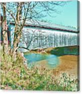 Bridge In Montgomery Canvas Print