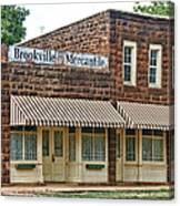 Brookville Mercantile Canvas Print