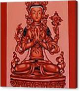 Buddha Of Compassion Canvas Print