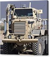 Buffalo Mine Protected Vehicle Canvas Print