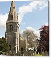 Building Church St Peters North Rauceby Linconshire Canvas Print