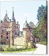 Burg Satsvey Germany Canvas Print