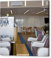 Business Lounge At An Airport Canvas Print