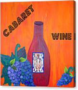 Cabaret Wine Canvas Print