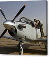 Camp Speicher, Iraq - U.s. Air Force Canvas Print