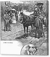 Canada: Church, 1883 Canvas Print