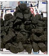 Carbon Trading, Conceptual Image Canvas Print
