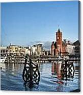 Cardiff Bay Panorama Canvas Print