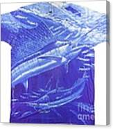 Carey Chen Mens Sailfish Shirt Canvas Print