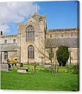 Cartmel Priory Canvas Print