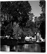Cemetery Natchez Mississippi Canvas Print