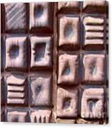 Ceramic Tiles Canvas Print
