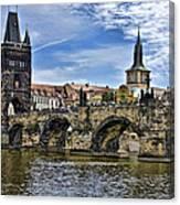 Charles Bridge - Prague Canvas Print