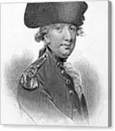 Charles Cornwallis Canvas Print