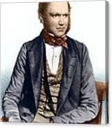 Charles Darwin, British Naturalist Canvas Print