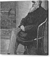 Charles Robert Darwin, English Canvas Print