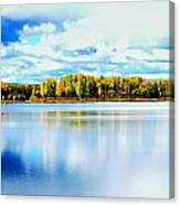 Chena Lakes Canvas Print