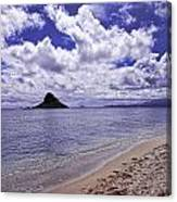 Chinaman S Hat From Kualoa Canvas Print