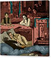 Chinatown Opium Den Canvas Print