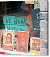 Chinese Bookstore Canvas Print