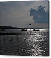 Christchurch Harbour Viewed From Mudeford Canvas Print